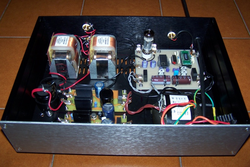 Dac End The Ad1865n K With Single Ended Vacuum Output Stage