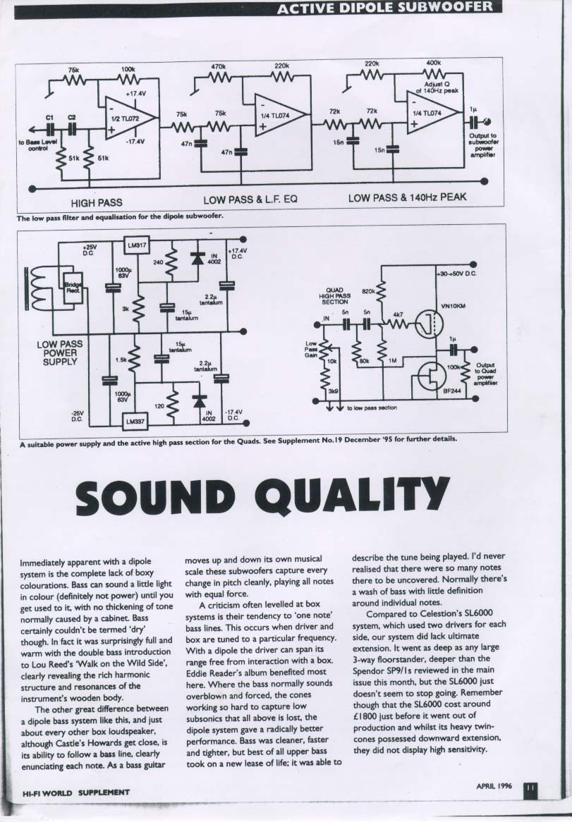 schematic for celestion 6000 controller