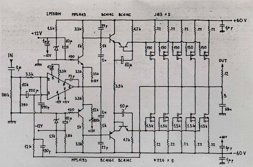 musical fidelity f16 problem  schematic